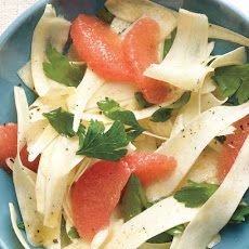 Shaved Parsnip Salad with Grapefruit