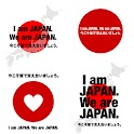 Japan tsunami and quake charit icon
