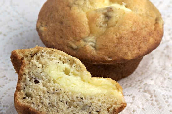Banana Muffins Filled with Cream Cheese? Yes We Can! Recipe | Yummly