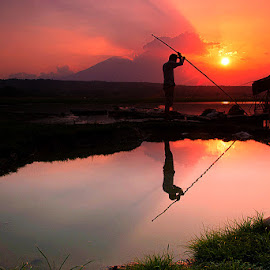 sunset in situ patok by Indra Budi - Landscapes Sunsets & Sunrises