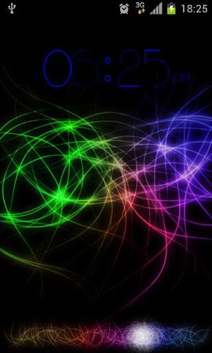 Color Swirl Go Locker theme