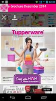 Screenshot of Katalog Tupperware Indonesia
