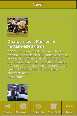 Green Bay Packers Insider