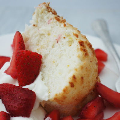 Citrus Angel Food Cake