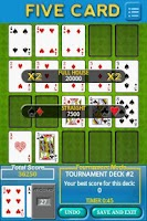 Screenshot of Five Card