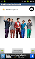 Screenshot of One Direction Wallpapers HD