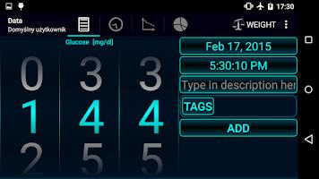 Screenshot of Diabetes - Glucose Diary