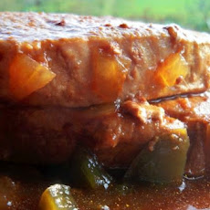 Spicy and Tender Crock Pot Pork Chops