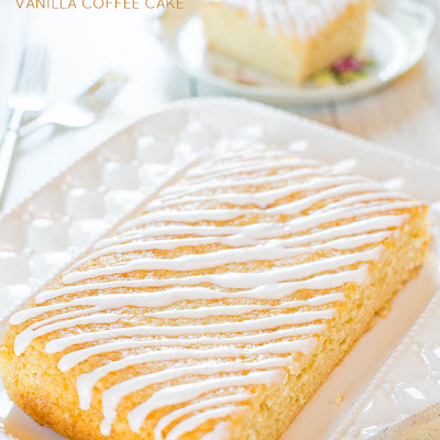 Sweet Cream Vanilla Coffee Cake