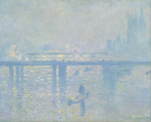 Monet Claude, il ponte di Charing Cross