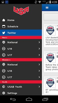 USA Basketball APK screenshot thumbnail 4