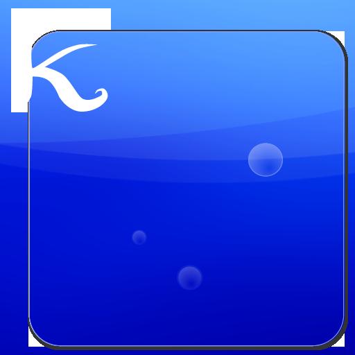 keeworld テーマ:蒼い海 個人化 App LOGO-硬是要APP
