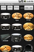 Screenshot of Drum Session Pro