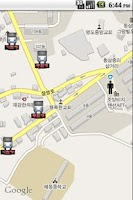Screenshot of 실시간 부산버스알림-ibus