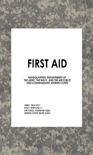 Military First Aid