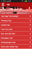 Screenshot of Telkomsel Ibadah