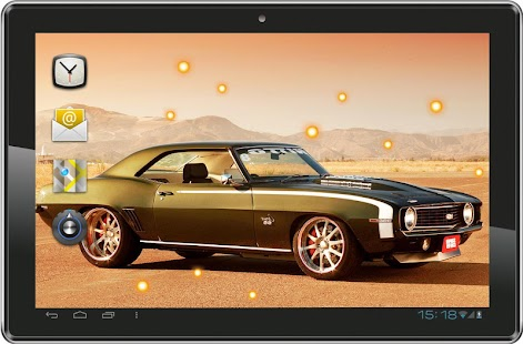 American Retro Cars LWP - screenshot