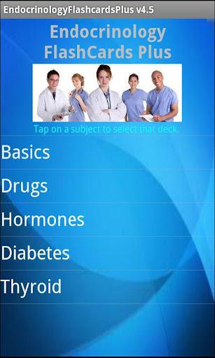Endocrinology Flashcards Plus