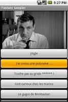 Screenshot of Les Tontons Sampler