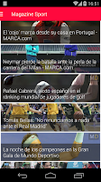 Screenshot of Sport Magazine - All Sport