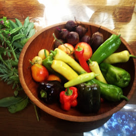 Grown at home, love the garden! by Tonya Levy - Nature Up Close Gardens & Produce