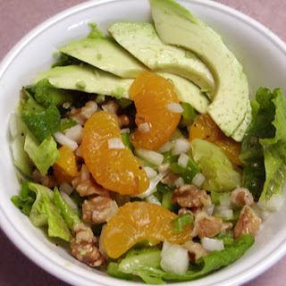 Avocado Mandarin Salad recipe – 136 calories