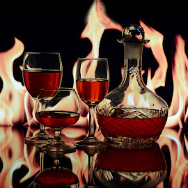 The Burning Desire #3 by Rakesh Syal - Food & Drink Alcohol & Drinks (  )