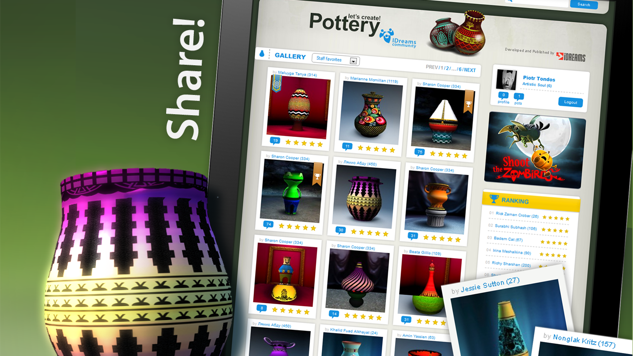 Let's Create! Pottery Screenshot 7