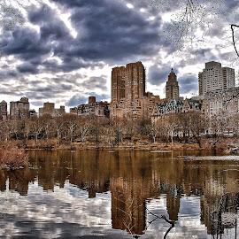 by Jose Figueiredo - City,  Street & Park  City Parks ( park, buildings, new york city )