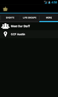 Screenshot of GCF Austin