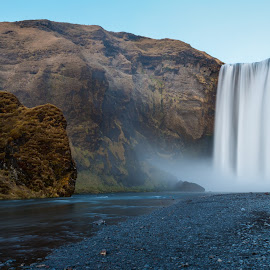Skogafoss by Phil Castagneri - Landscapes Waterscapes ( iceland, skogafoss )