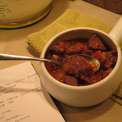 Lamb Stew With Cardamom