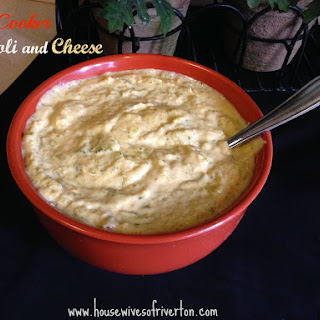 Easy Broccoli and Cheese Soup- Slow Cooker