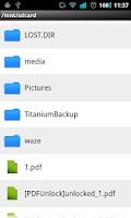 Screenshot of Free PDFUnclock