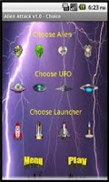 Screenshot of Alien Attack