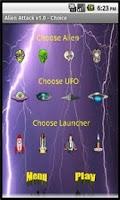 Screenshot of Alien Attack