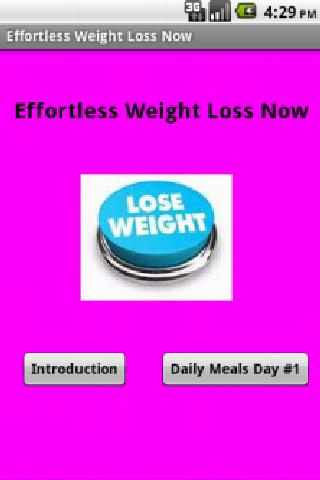 Effortless Weight Loss Now