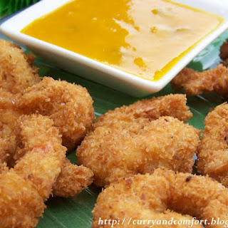Coconut Shrimp with Mango Tango Sauce