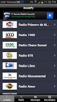 Screenshot of DesdePy Radios de Paraguay