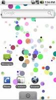 Screenshot of BubblePaper Live Wallpaper