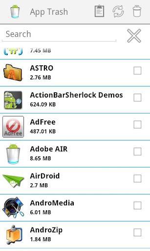 App Trash
