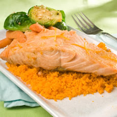 Grilled Salmon With Orange Glaze