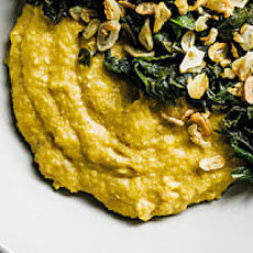 Grits with Creamed Cashews