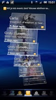 Screenshot of Hyves Timescape™