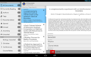 Screenshot of Scholarley (Beta)