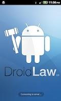 Screenshot of Patent Law - DroidLaw
