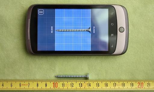 Millimeter ミリ - スクリーン定規
