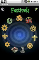 Screenshot of World Festivals 2014