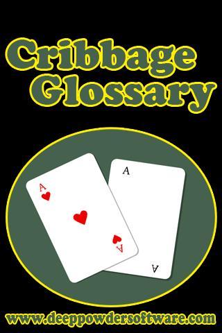 Cribbage Glossary