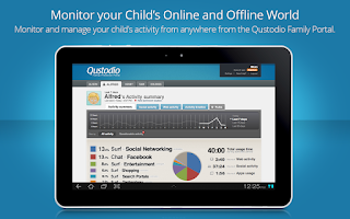 Screenshot of Qustodio Parental Control